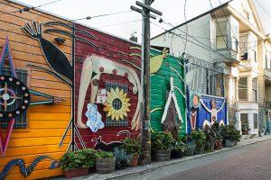 Balmy Alley San Francisco